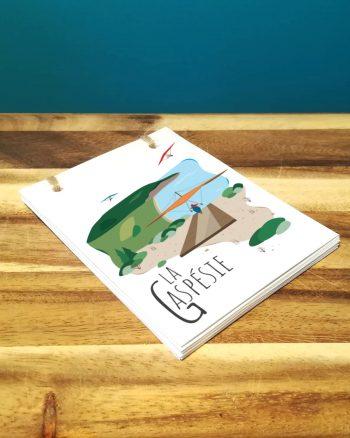 Mailys ORY - Graphiste   Illustration - Carnet - La Gaspésie