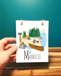 Mailys ORY - Graphiste | Illustration - Carnet - La Mauricie