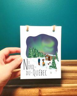 Mailys ORY - Graphiste | Illustration - Carnet - Le Nord-du-Québec