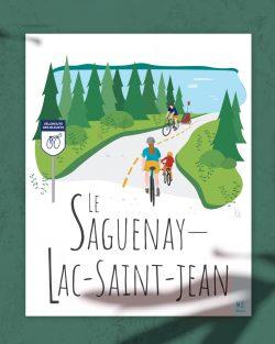 Mailys ORY - Graphiste | Illustration - Affiche - Le Saguenay-Lac-Saint-Jean