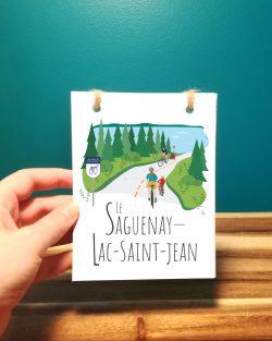 Mailys ORY - Graphiste   Illustration - Carnet - Le Saguenay-Lac-Saint-Jean