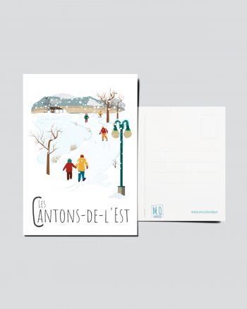 Mailys ORY - Graphiste   Illustration - Carte postale- Les Cantons-de-l'Est